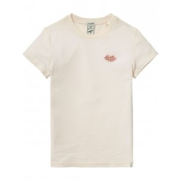 Scotch R'Belle Tee in delicate quality Pink