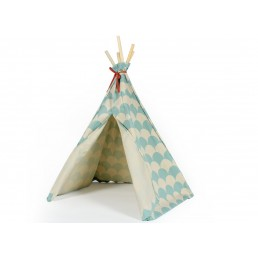 Nobodinoz MINI tipi Arizona green scales