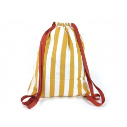 Nobodinoz Backpack Florencia honey stripes