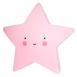 A Little Lovely Company Mini Star light Pink