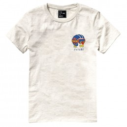 The Future is Ours T-shirt Speedy White