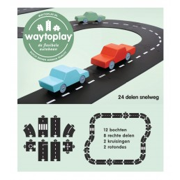 Waytoplay Highway - 24 pieces