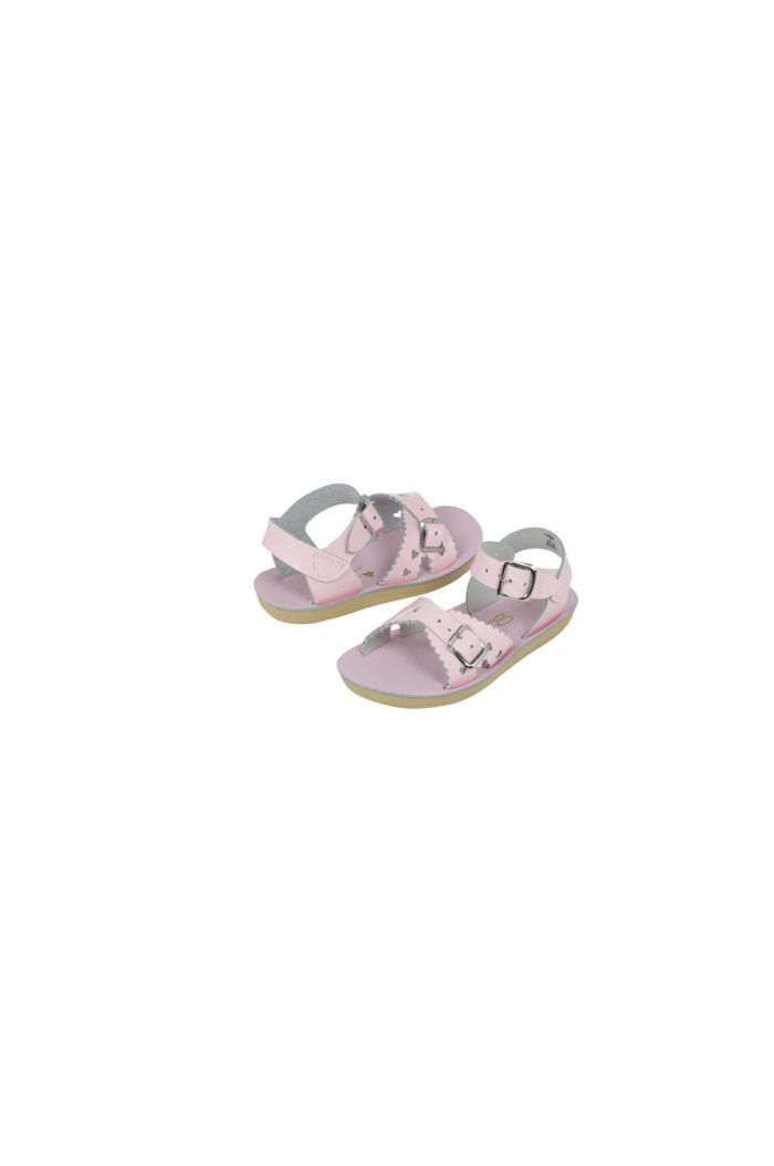 Salt-Water Sandals Sweetheart Shiny Pink