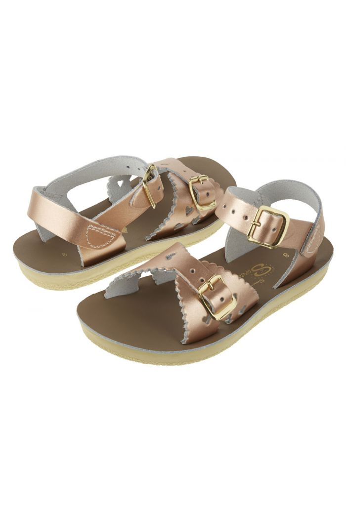 Salt-Water Sandals Sweetheart Rose Gold