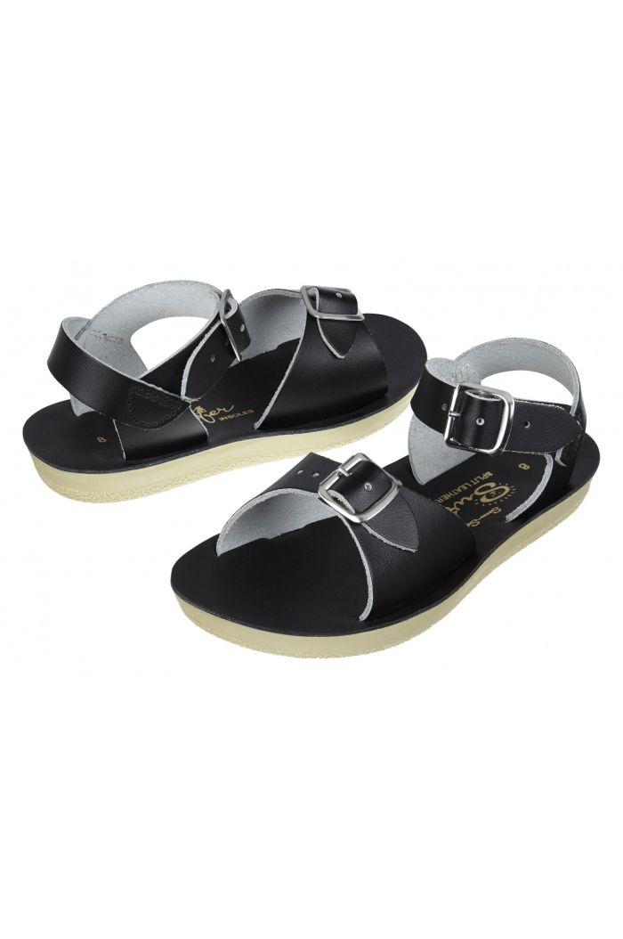 Salt-Water Sandals Surfer Black