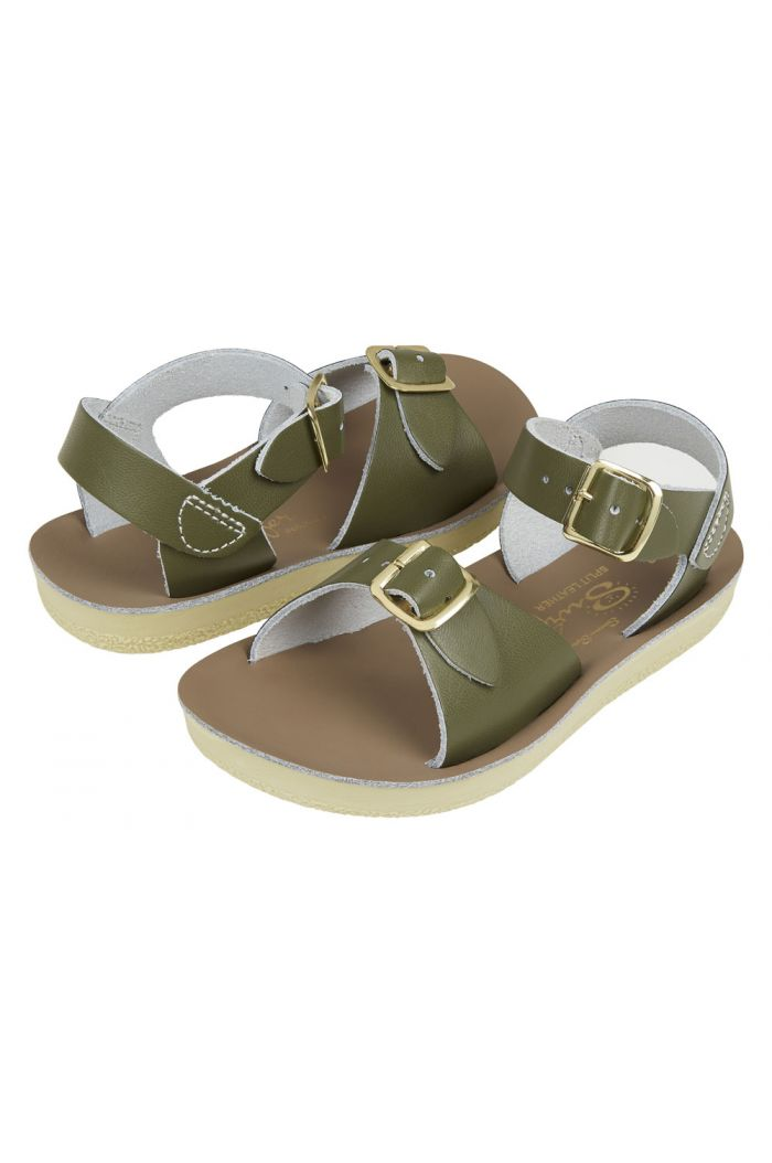 Salt-Water Sandals Surfer Olive_1