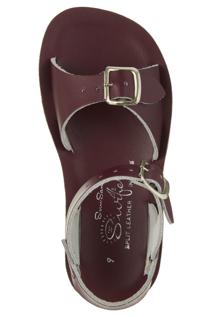 Salt-Water Sandals Surfer Claret_1