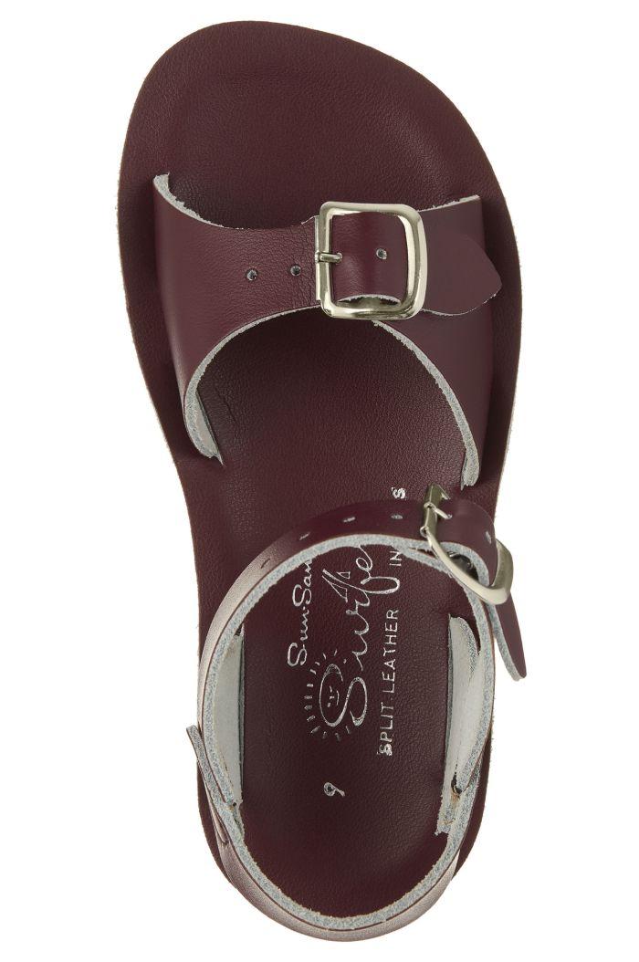 Salt-Water Sandals Surfer Claret_1