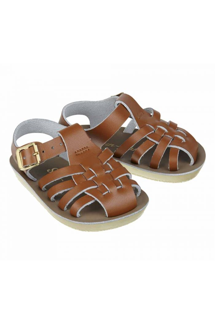 Salt-Water Sandals Sailor Tan_1