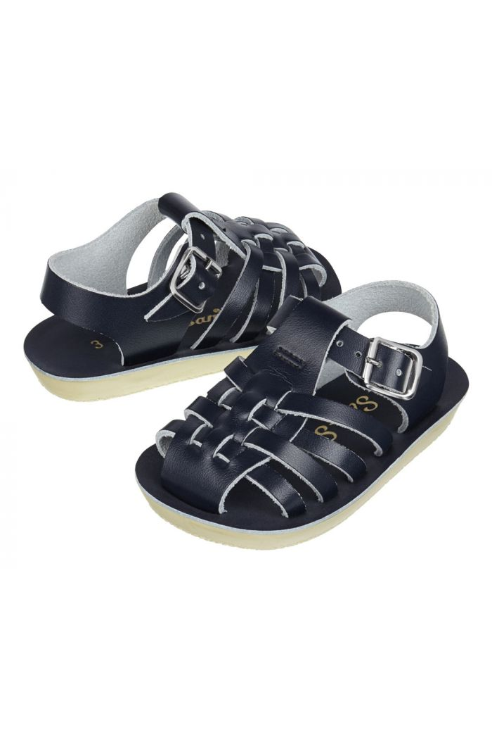 Salt-Water Sandals Sailor Navy_1