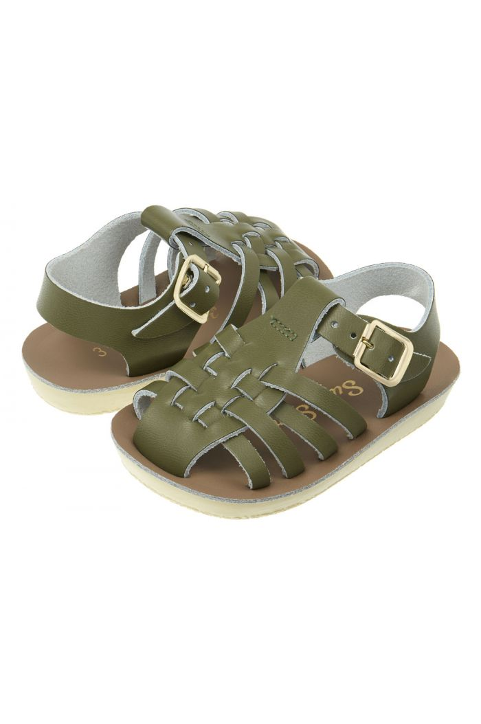 Salt-Water Sandals Sailor Olive_1