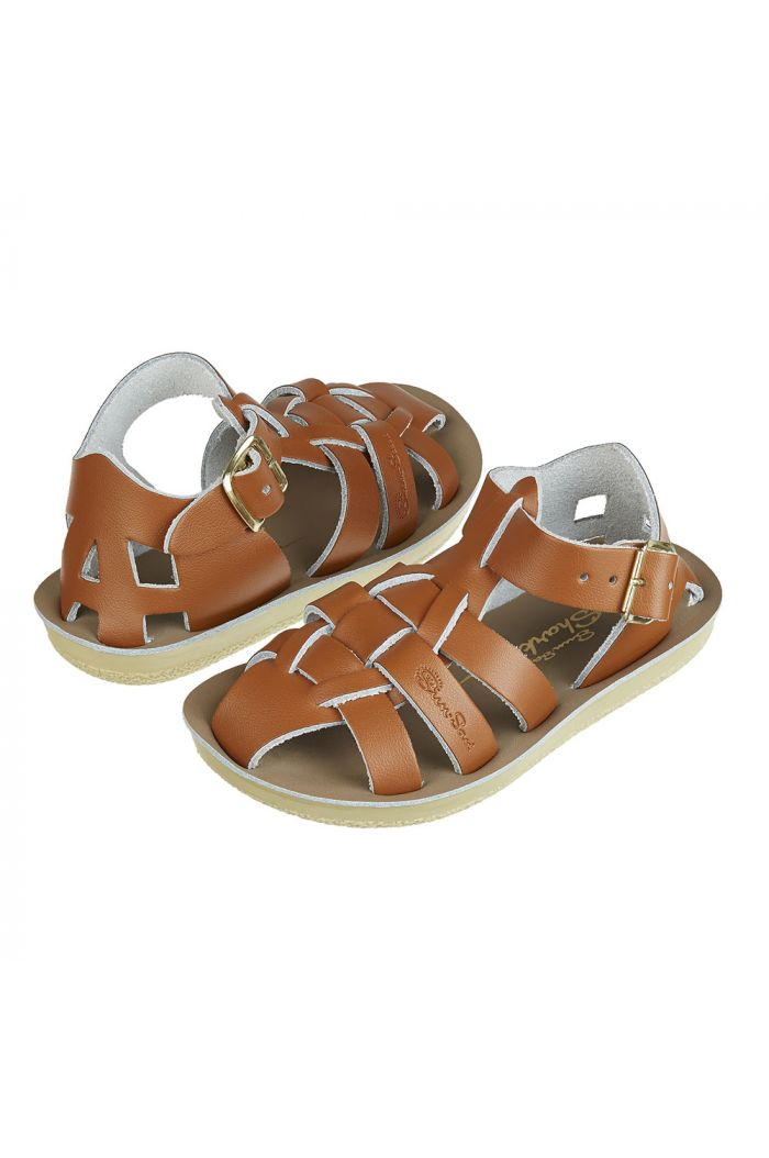 Salt-Water Sandals Shark Tan_1