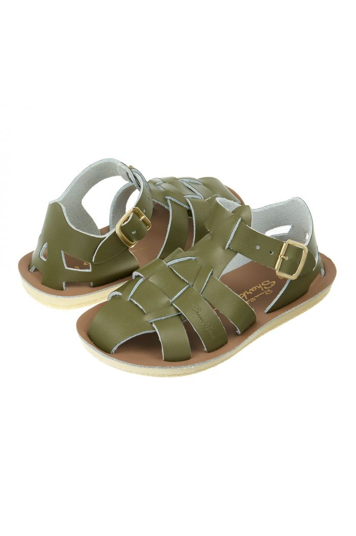 Salt-Water Sandals Shark Olive_1