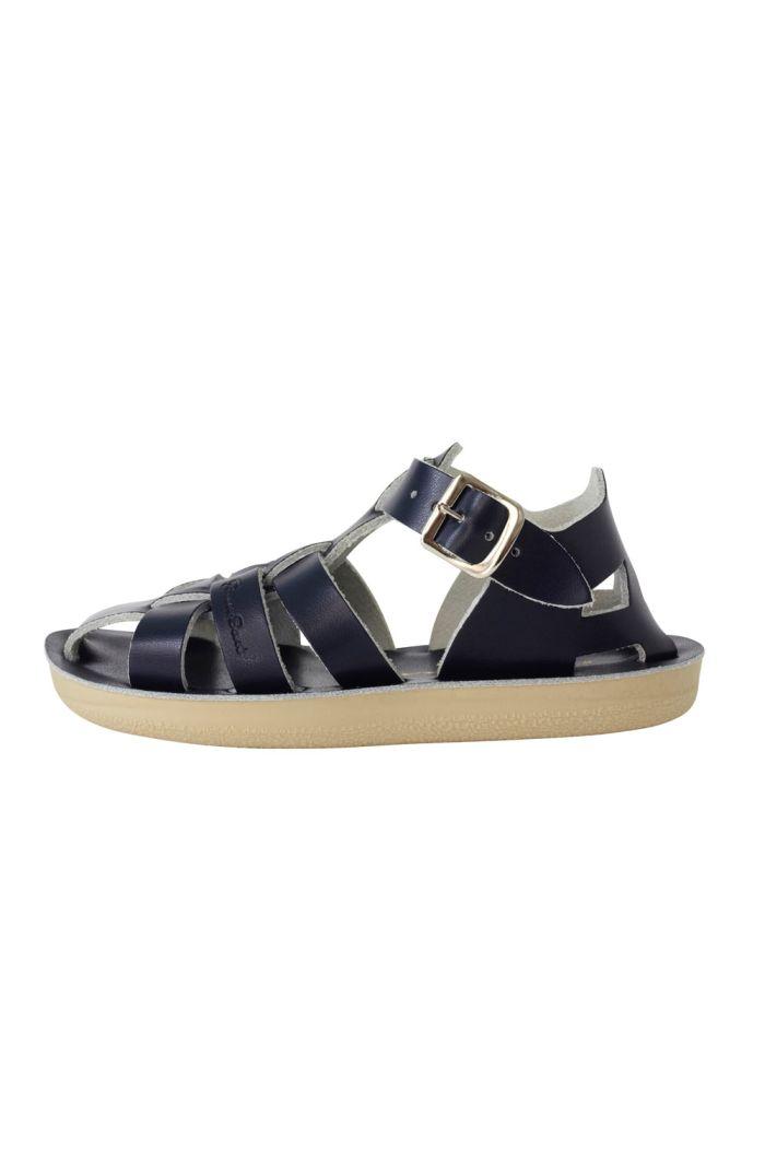 Salt-Water Sandals Shark Navy