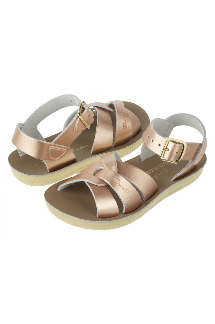 Salt-Water Sandals Swimmer Rose Gold_1