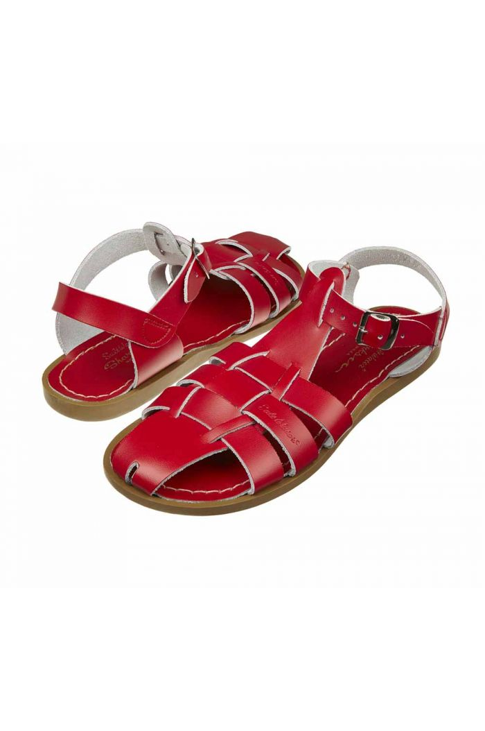Salt-Water Sandals Shark Red_1