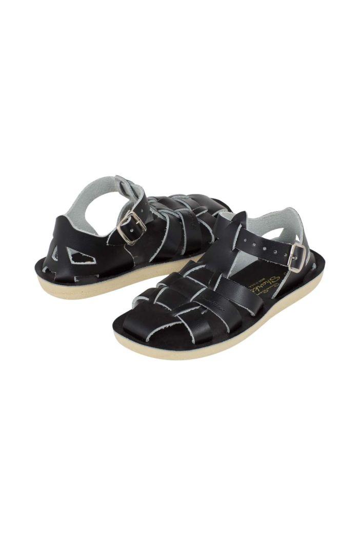 Salt-Water Sandals Shark Black
