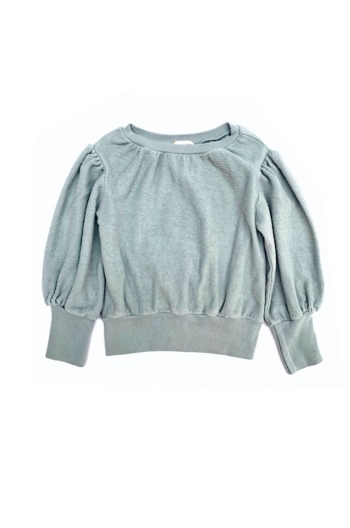 Longlivethequeen terry sweater mist