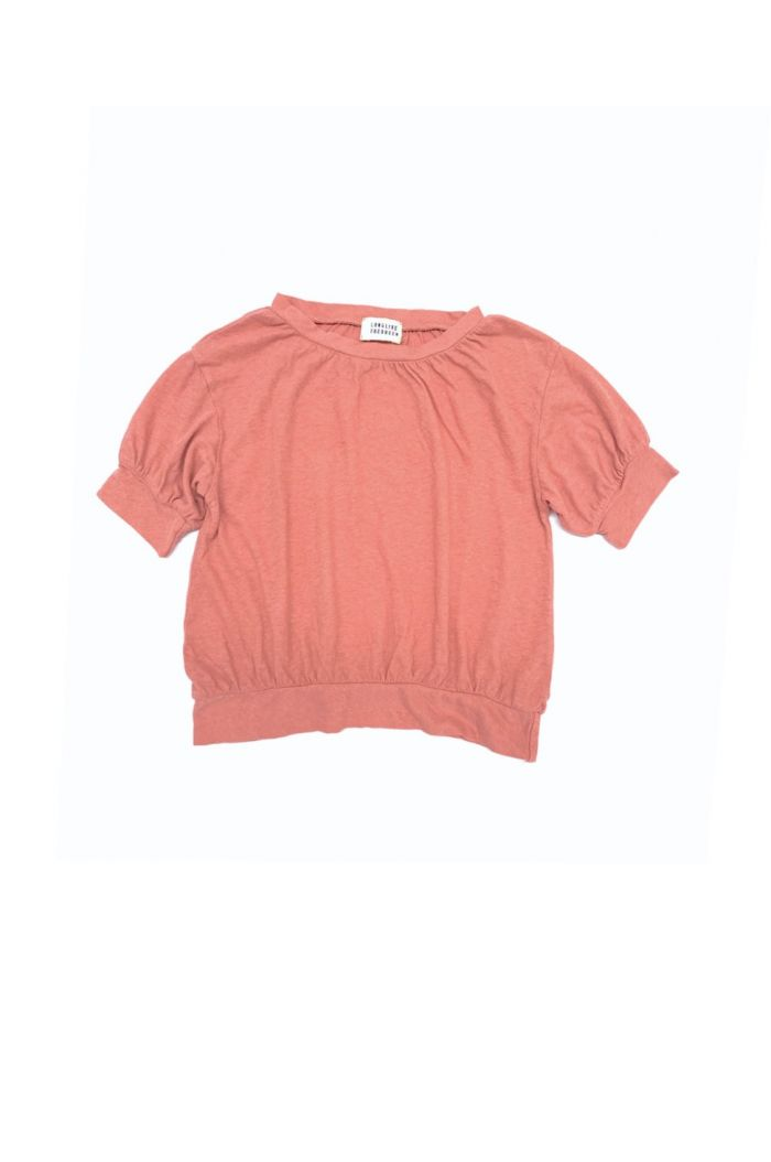 Longlivethequeen puff tee rose dawn