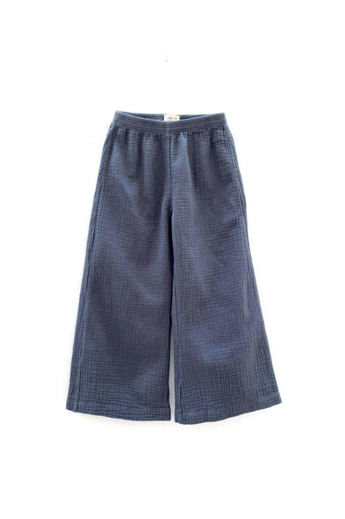 Longlivethequeen crinkle pants navy