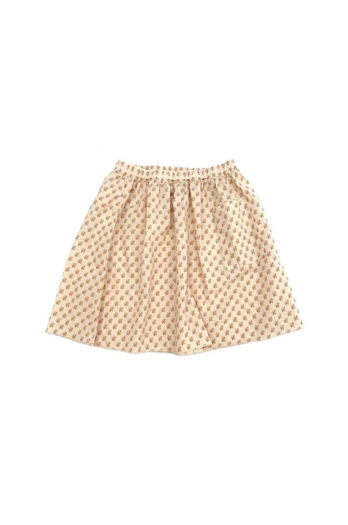 Longlivethequeen Skirt block print