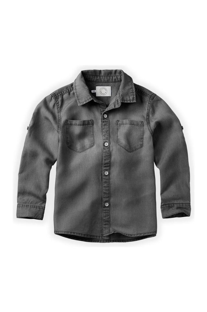 Sproet & Sprout Denim shirt Grey Grey Denim_1