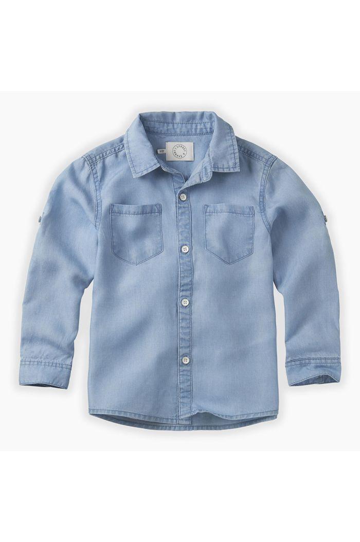 Sproet & Sprout Denim shirt Blue Blue denim_1