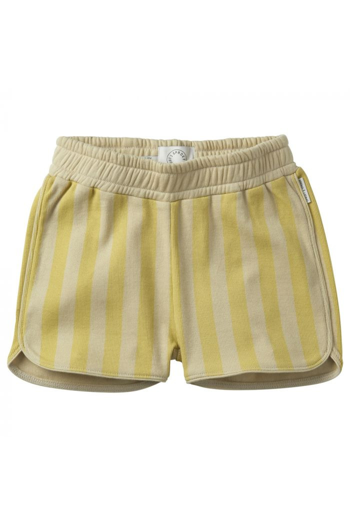 Sproet & Sprout Sport shorts stripe Mellow Yellow Mellow yellow