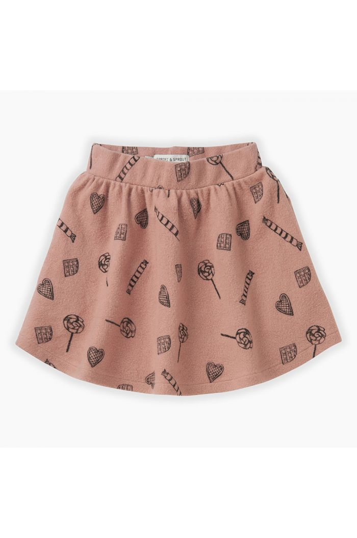 Sproet & Sprout Skirt Candy All-over print Mauve_1