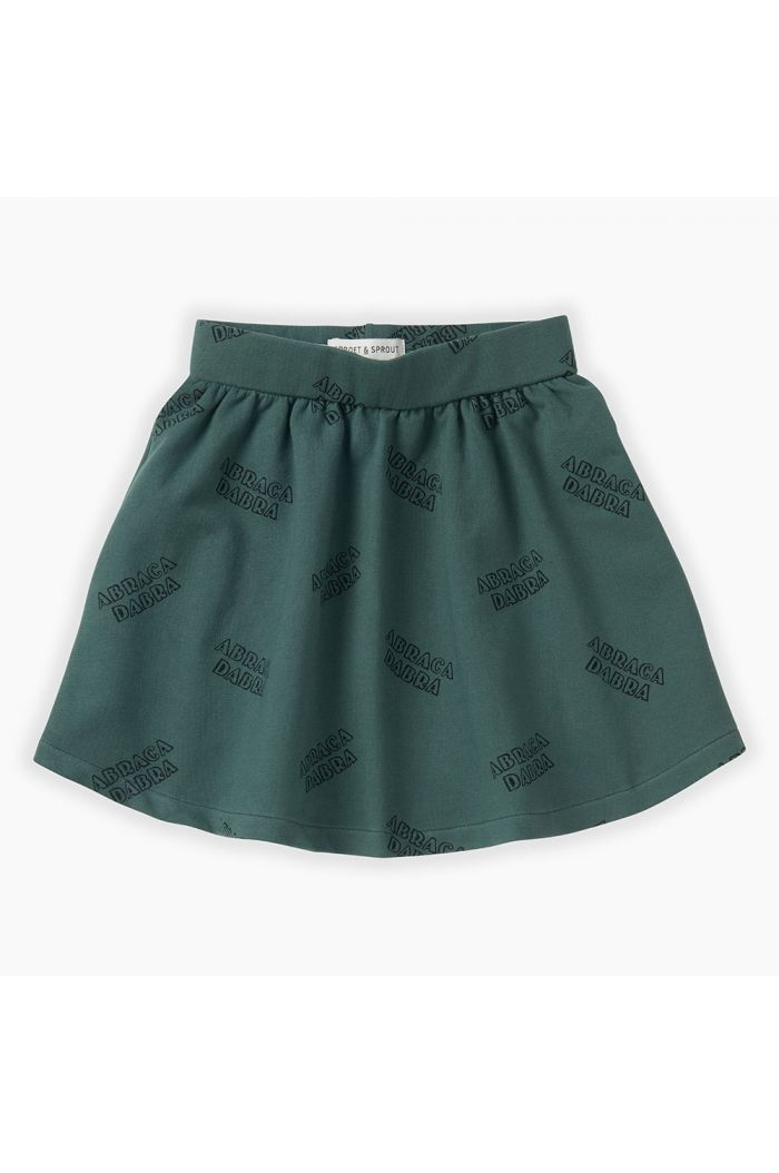 Sproet & Sprout Skirt Abracadabra All-over print Dusty Green_1