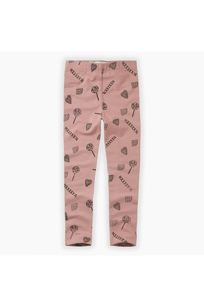 Sproet & Sprout Pants Candy All-over print Mauve_1
