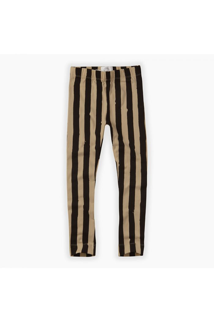 Sproet & Sprout Pants Painted Stripe Nougat Black / Nougat_1