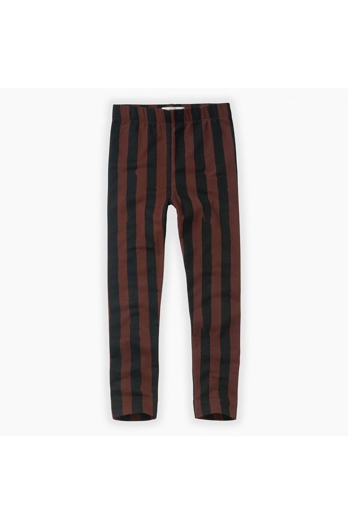 Sproet & Sprout Pants Painted Stripe Chocolate Black / Chocolate_1
