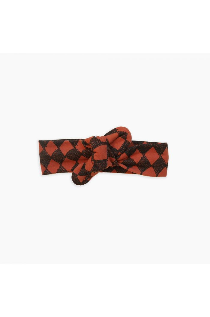 Sproet & Sprout Headband Diamond All-over print Copper Brown_1