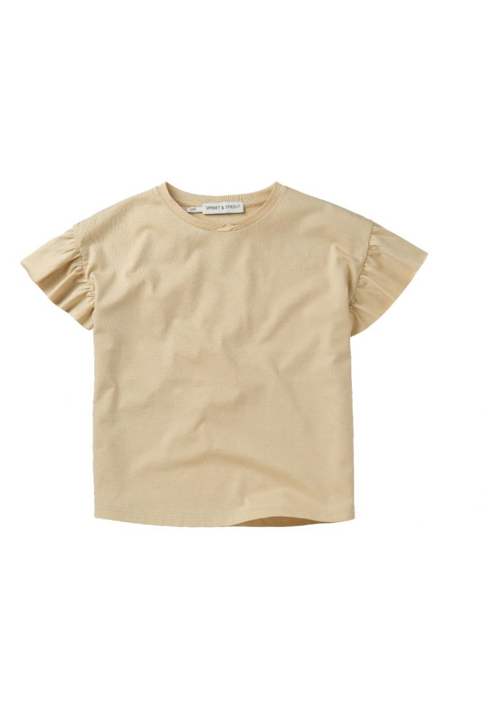 Sproet & Sprout T-shirt Ruffle Sesame Sesame_1