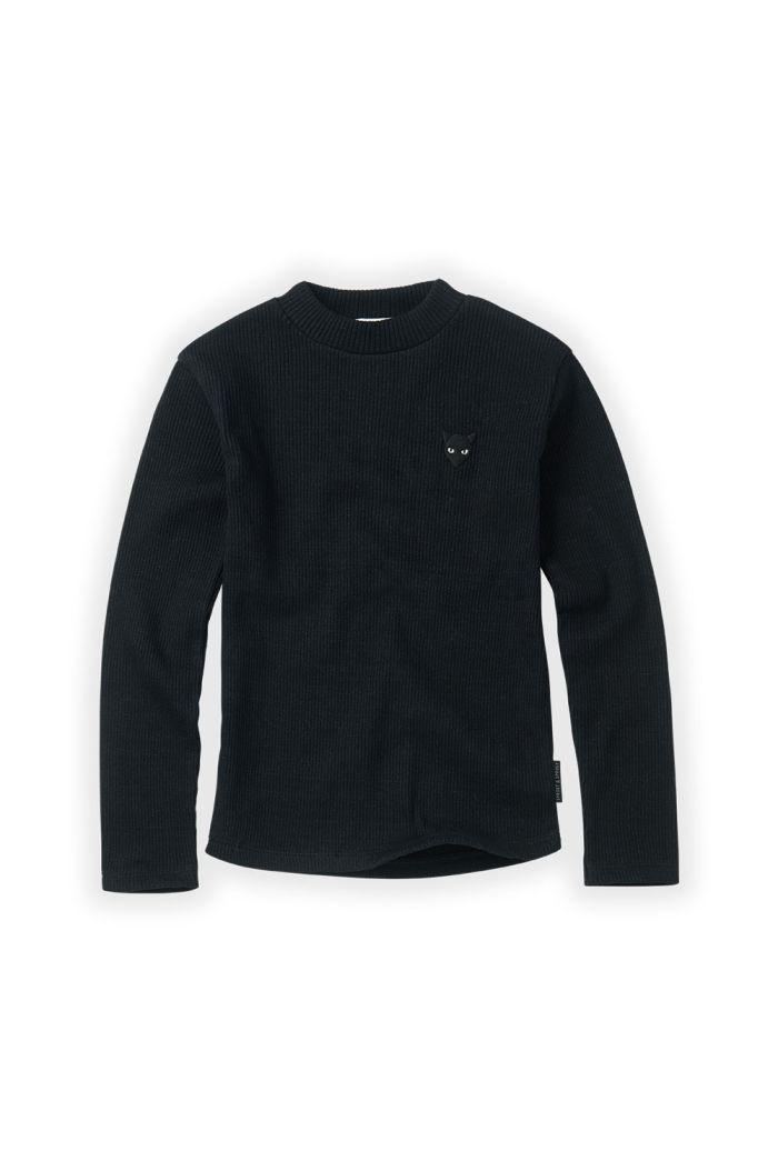 Sproet & Sprout T-shirt rib Black Black_1