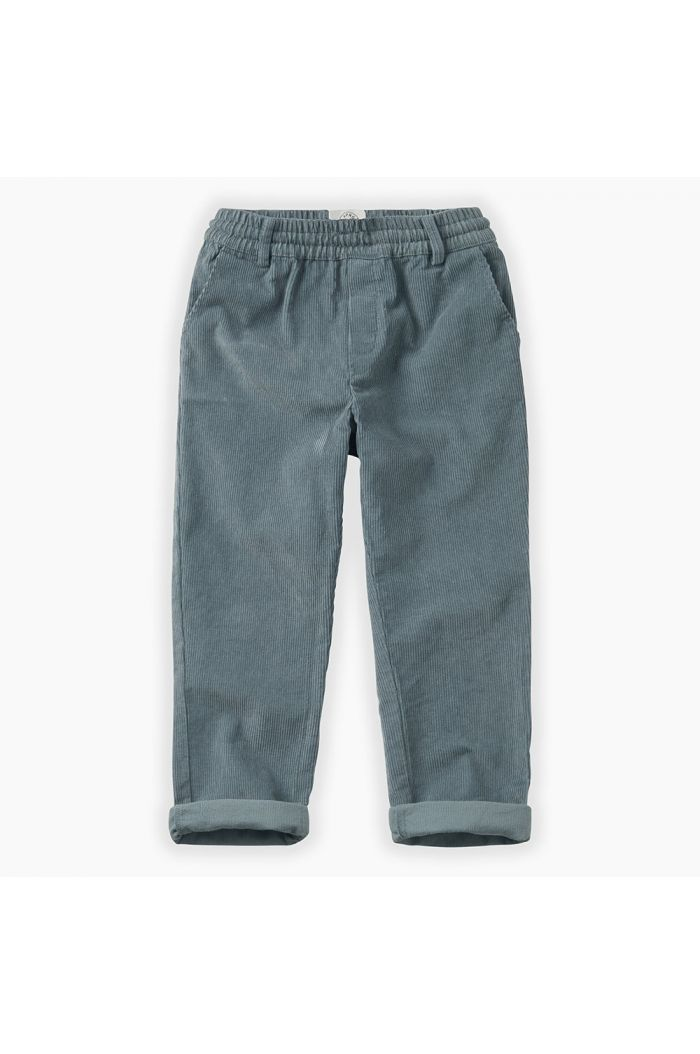 Sproet & Sprout Pants Corduroy Stone Blue Stone Blue_1