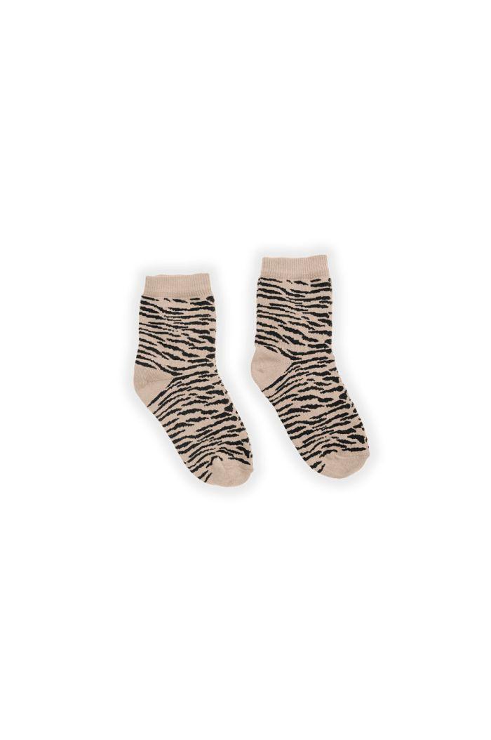 Sproet & Sprout Socks Tiger Sesame Sesame_1