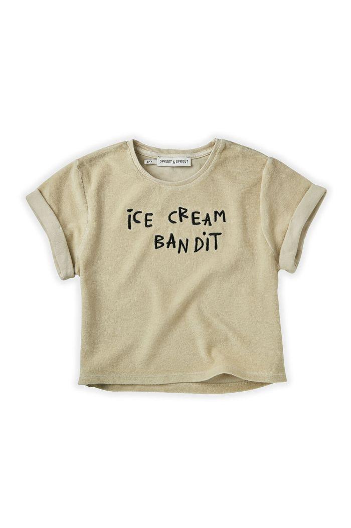 Sproet & Sprout Sweat Tshirt Terry Icecream Bandit Sesam_1