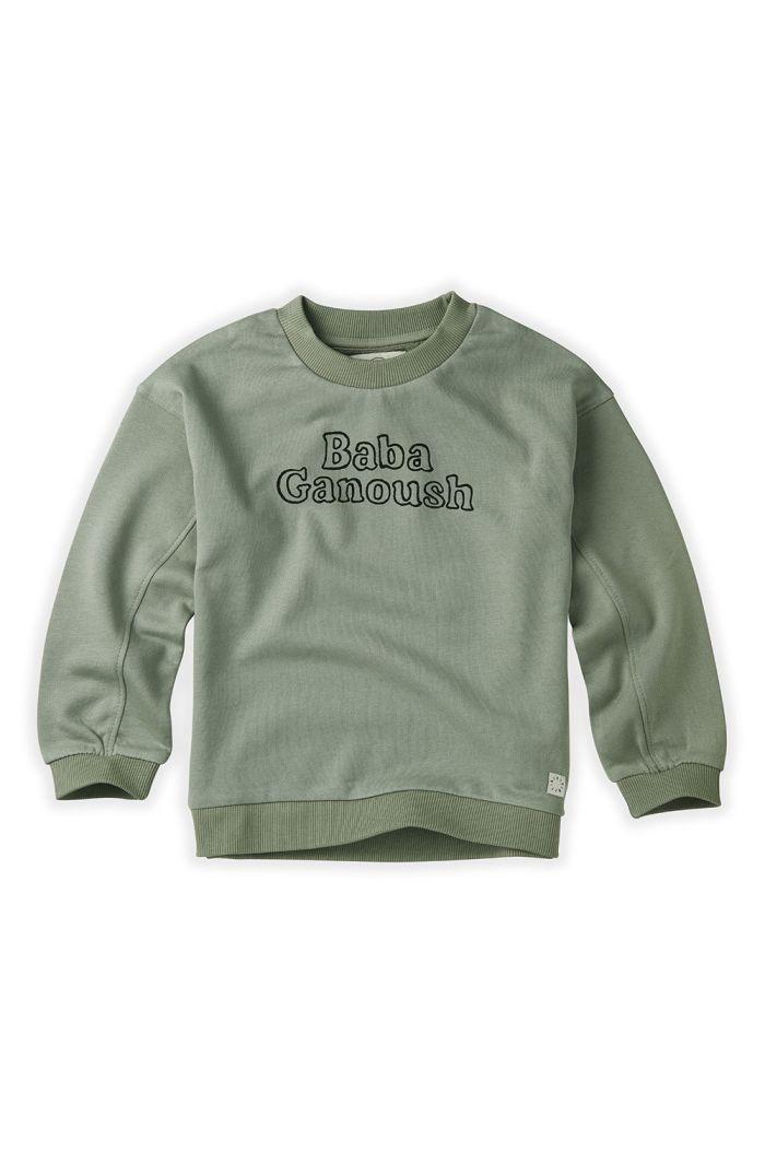 Sproet & Sprout Sweatshirt Baba Ganoush Eucalyptus_1