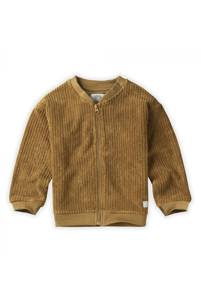 Sproet & Sprout Jacket Quilted Terry Oasis Desert_1