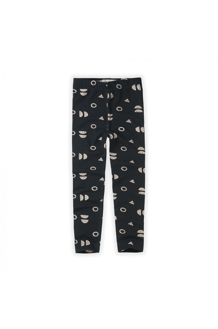 Sproet & Sprout Legging Print Abstract asphalt_1