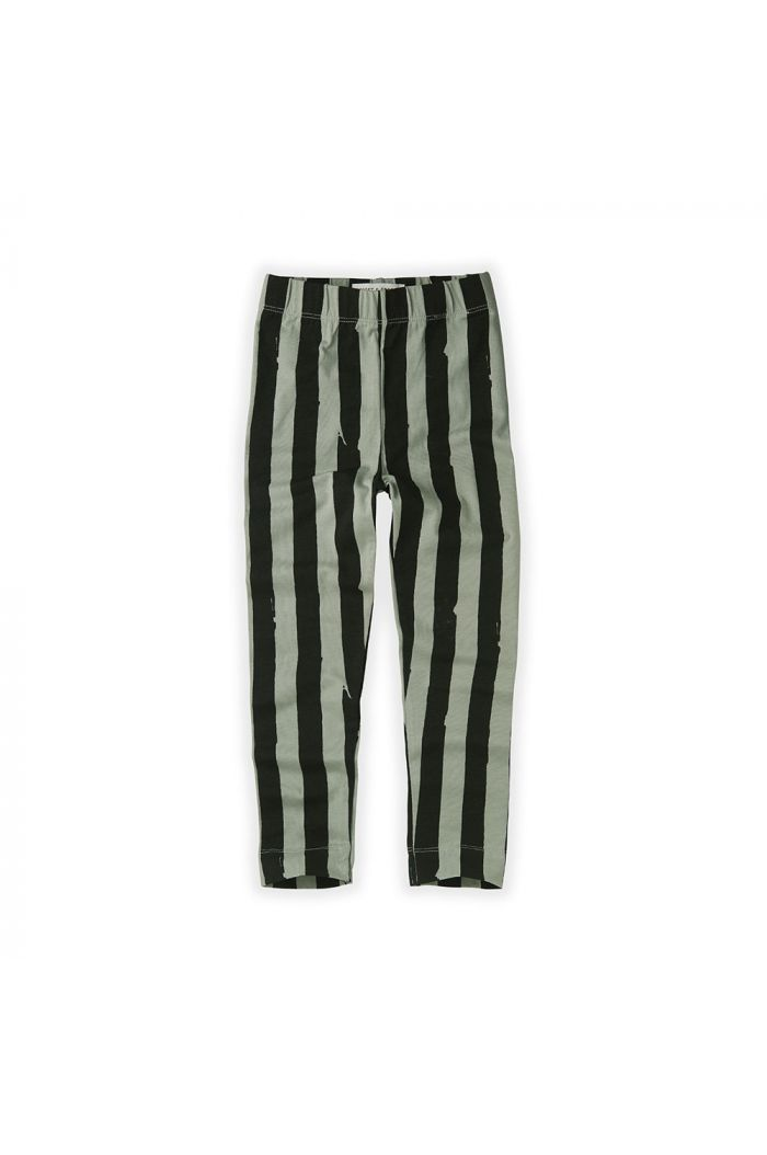 Sproet & Sprout Legging Painted Stripe Eucalyptus_1