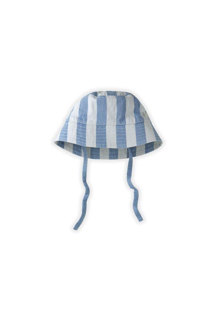 Sproet & Sprout Hat Denim Stripe Denim Stripe_1