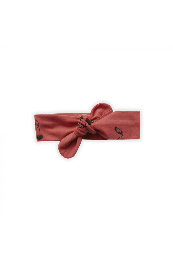 Sproet & Sprout Headband Print Cherry Cherry Red_1