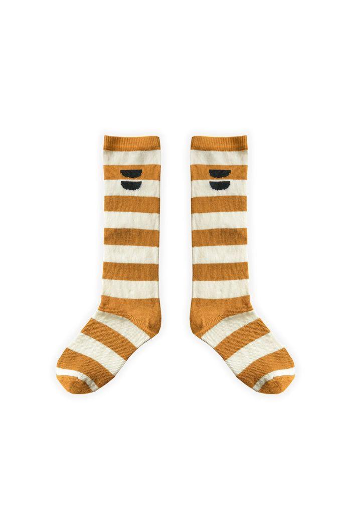 Sproet & Sprout High Socks Stripe Desert Desert_1