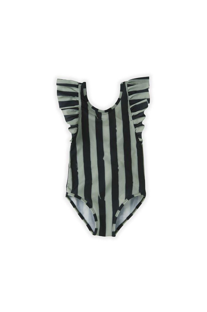 Sproet & Sprout Bathing Suit Painted Stripe Eucalyptus_1