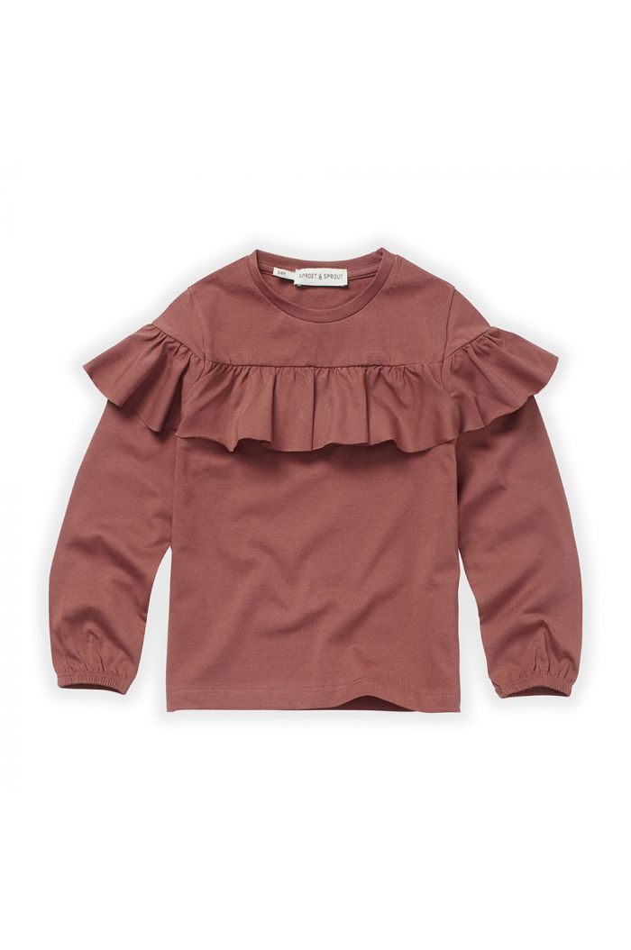 Sproet & Sprout T-Shirt Ruffle Fig_1