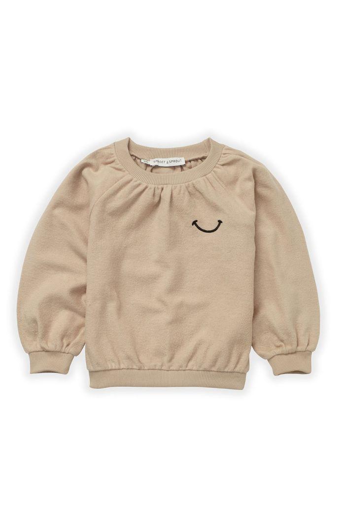 Sproet & Sprout Sweatshirt Loose Smile Nougat_1