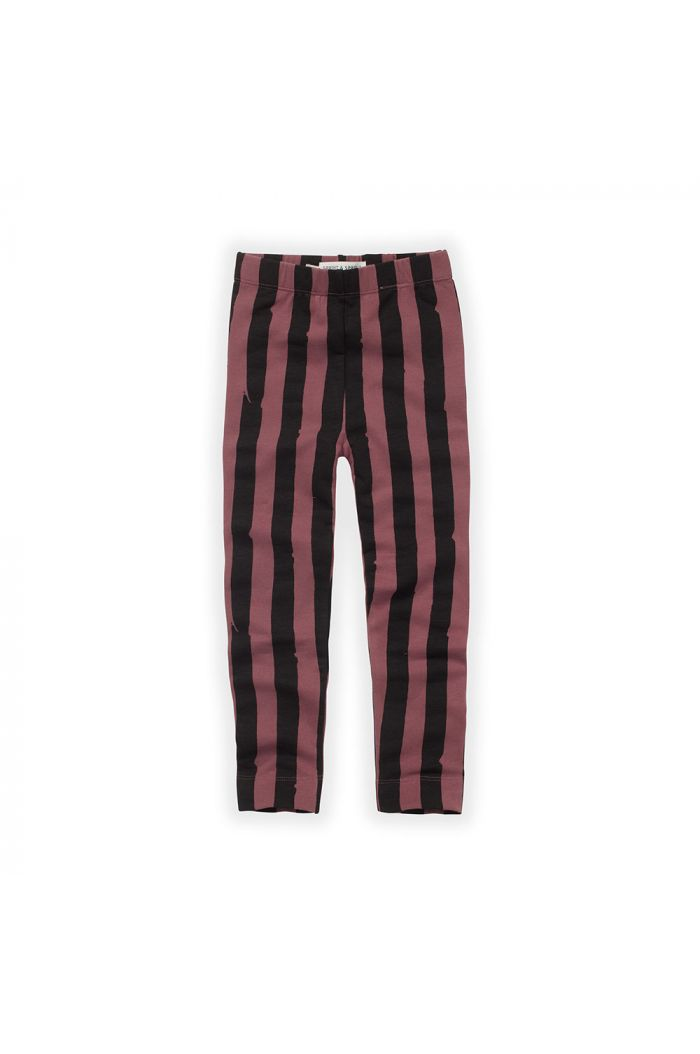 Sproet & Sprout Legging Painted Stripe Fig_1